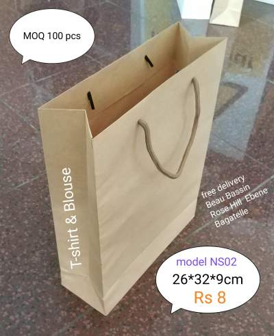 Paper Bags - Graphic design on Aster Vender