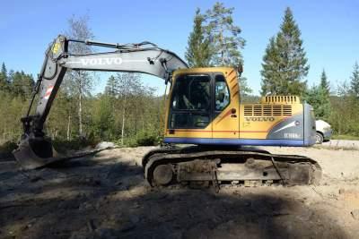 Volvo EC180BLc - Excavator & Loader on Aster Vender