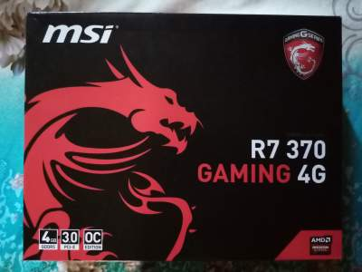 AMD Radeon R7 370 4GB GDDR5 DVI-I/DVI-D/HDMI/DP PCI-E Graphics Card - Graphic Card (GPU) on Aster Vender