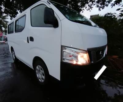 Nissan Urvan NV 350 2014 Goods Vehicle Rs 430,000 Slightly Neg  - Cargo Van (Delivery Van) on Aster Vender