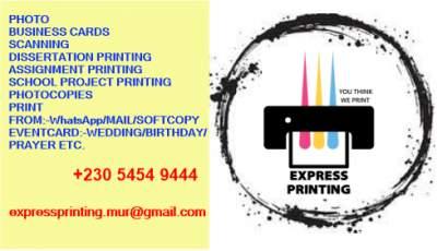Printing  - Art & design on Aster Vender