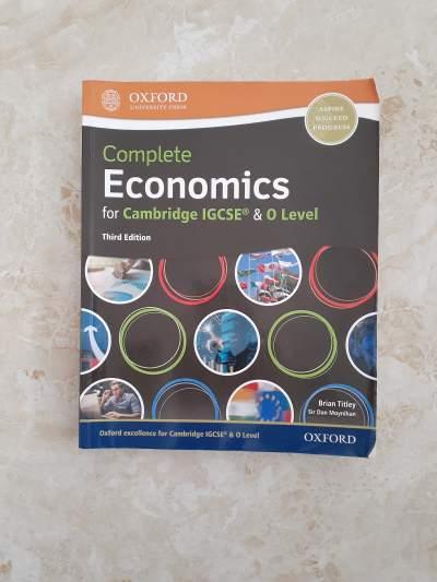 Economics O Level Workbook - Self help books on Aster Vender