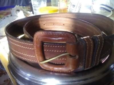 Leather Belt - Pants (Men) on Aster Vender