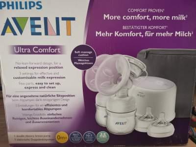 Electric Breast milk pump (double)  - Kids Stuff on Aster Vender