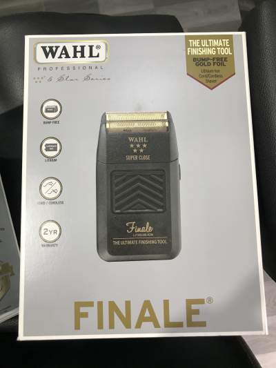 WAHL finale shaver - Hair trimmers & clippers on Aster Vender