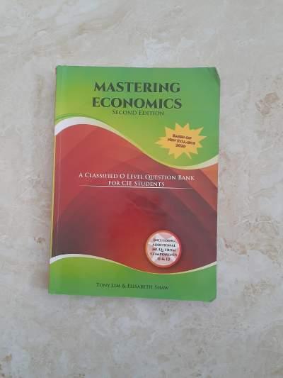 Mastering Economics - Self help books on Aster Vender