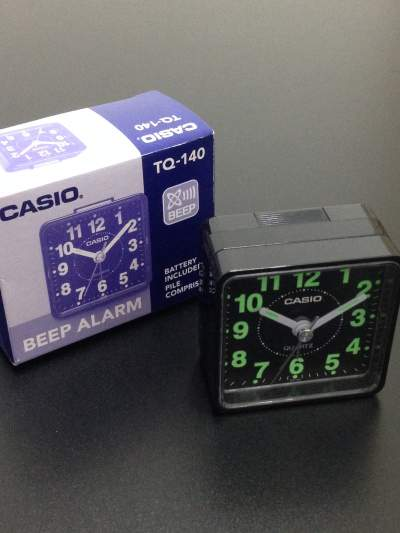 Casio TQ-140-1 Table Clock - All household appliances on Aster Vender