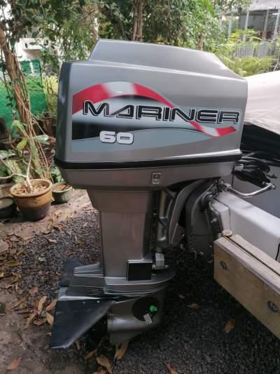 Mariner 60 - Boat engines on Aster Vender