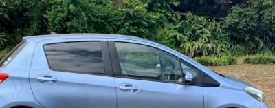 Blue Toyota Vitz Hatchback - Family Cars on Aster Vender