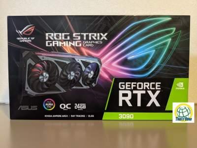 Asus ROG Strix GeForce RTX3090 OC 24GB GDDR6X Graphics Card New *Seale - CPU Cooler Fan on Aster Vender