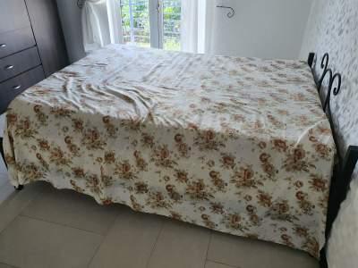 King Size Bed plus mattress  - Bedroom Furnitures on Aster Vender