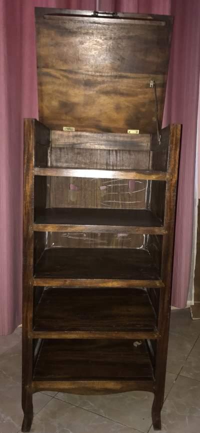Meuble en bois antiquité  - Bookcases, cabinets, shelves on Aster Vender