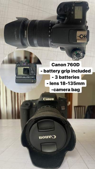Canon EOS 760D - Photo & Video on Aster Vender