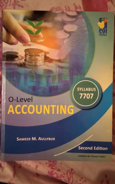 O-Level accounting - Secondary school on Aster Vender