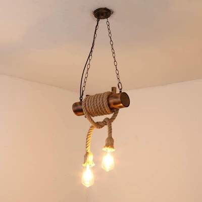 Ceiling Lights - Bamboo *2 rope - Interior Decor on Aster Vender