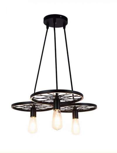 Ceiling Lights - Wheel black *3 - Interior Decor on Aster Vender