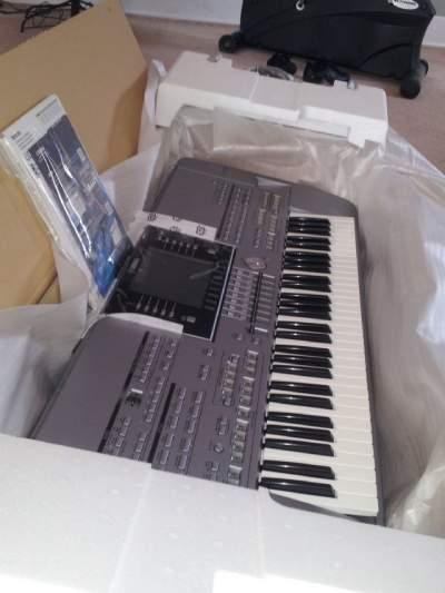 Available Yamaha Tyros 5, Pioneer DJ CDJ 2000, Korg PA4X..+1 780-299- - Piano on Aster Vender