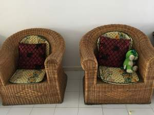 Grandes chaises rotin  - Chairs on Aster Vender