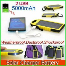 Buy one powerbank solar get one waterproof bag free