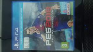 PES 2018 PS4 - Other Indoor Sports & Games on Aster Vender
