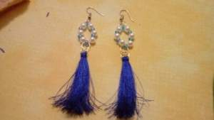 Hand made jewelry on sales - Earrings on Aster Vender