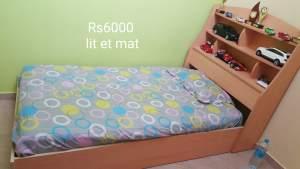 Lit et mat  - Bedroom Furnitures on Aster Vender