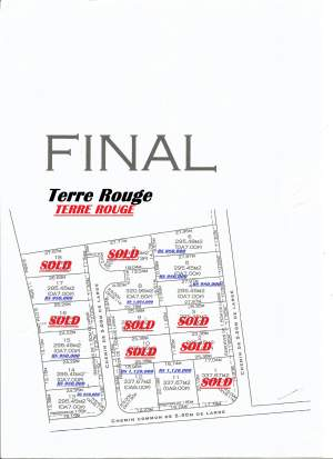 Terre rouge 8  perche RS1,120,000 - Land on Aster Vender