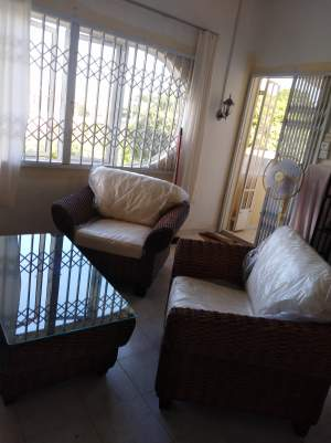 Livingroom set - Rotin