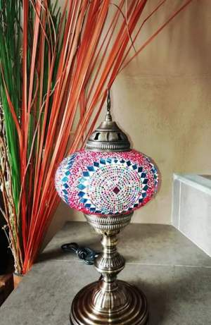 Hand made Turkish Mosaic Lamps - To give away (gifting) on Aster Vender