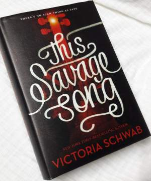This Savage Song - Victoria Schwab - Fictional books on Aster Vender