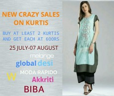 CRAZY SALES ON BRANDED KURTIS - Dresses (Women) on Aster Vender