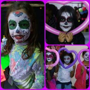 Face painting and balloon twisting  - Entertainment on Aster Vender