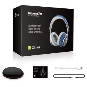 Bluedio A2 Twistable Wireless Bluetooth 4.2 Stereo Music Headphones  - All Informatics Products on Aster Vender