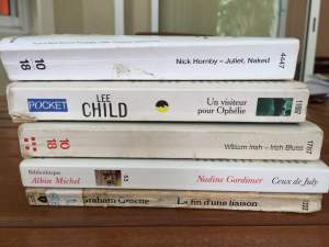 Livres - littérature anglaise et américaine - Fictional books on Aster Vender