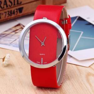 lady water quartz unique stylish watch - Watches on Aster Vender