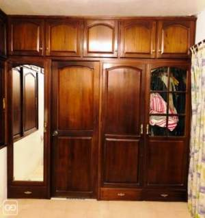 Bedroom Ward Robe Full Teak wood - Bedroom Furnitures on Aster Vender