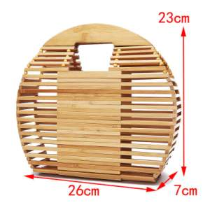 Bamboo Handbag  - Bags on Aster Vender