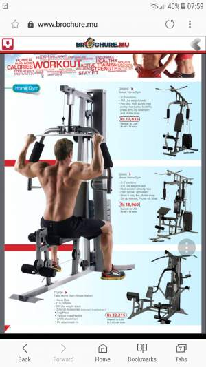 Home Gym - Equipement de Fitness - Abdos - Fitness & gym equipment on Aster Vender