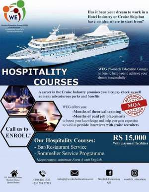 Hospitality Courses - Tourism on Aster Vender