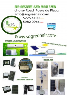 So Green Air Con Ltd - Home repairs & installation on Aster Vender