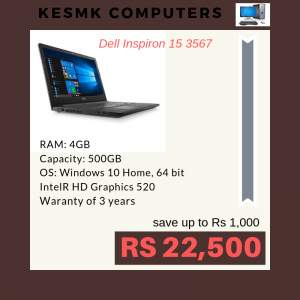 Laptop DELL Hurry up! Limited Stock. Only @ KESMK Computers LTD Contac - Laptop on Aster Vender
