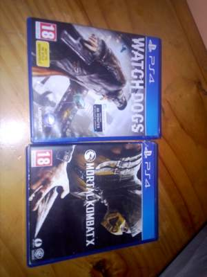 watche dogs and mortal comdat x - PS4, PC, Xbox, PSP Games on Aster Vender