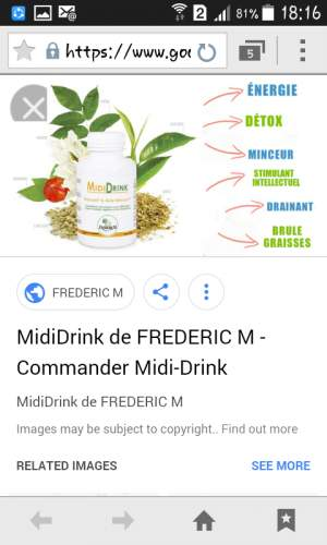 Midi drink - Health Products on Aster Vender