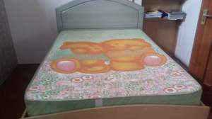 Bed with matress - Bedroom Furnitures on Aster Vender