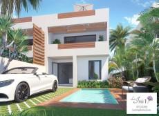 Nouveau projet de 4 duplex (2 & 2) dans un très beau quartier résidentiel de Ruisseau Palmyre, Flic-en-Flac - House on Aster Vender