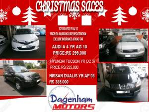 CHRISTMAS SALES  - Family Cars on Aster Vender