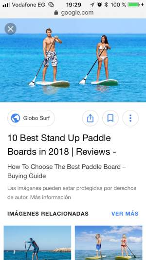 Looking for a standing paddle  - Other parts on Aster Vender