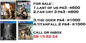 Playstation 3 & 4 Games - PS4, PC, Xbox, PSP Games on Aster Vender
