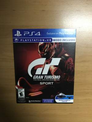 Gran Turismo Sport - PS4 - PS4, PC, Xbox, PSP Games on Aster Vender
