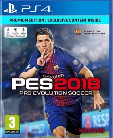 Pro Evolution Soccer 2018 - Internationally released on 12.09.2017. Available in Mauritius. Original price Rs 2400. Discount Rs 500 for initial release. - PlayStation 4 Games on Aster Vender